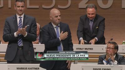 Gianni Infantino elegido presidente de la FIFA