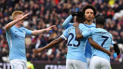 En fotos: pocos minutos para 'Chicharito' en la caída del West Ham con Manchester City