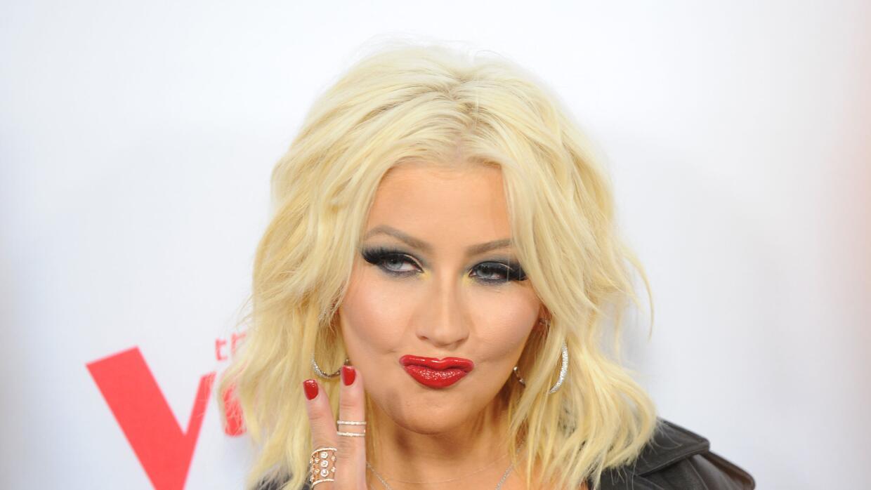 La cantante mostró su talento como imitadora.