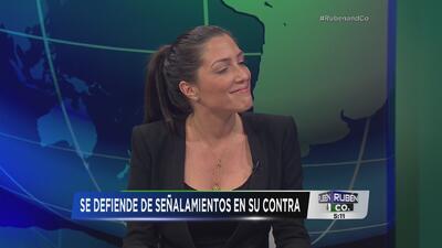Alexándra Lúgaro se defiende de críticas en su contra