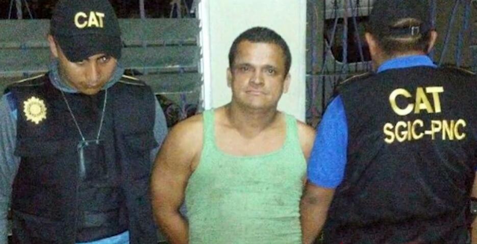 Welder Darío Morente Dubón no se resistió al arresto cuando la semana pa...
