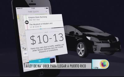 Aquí la rueda está inventada, aseguran sobre llegada de Uber a Puerto Rico