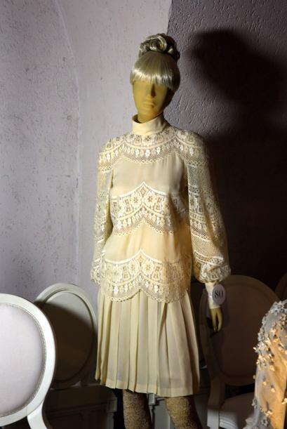 En 1968, se casó con el magnate Aristóteles Onasis, el vestido para su b...