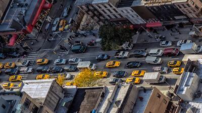El tráfico en Nueva York es malo, pero esta ciudad no está en el primer...