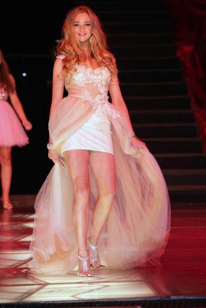 Ahora Harriotte se dedica al modelaje y ganó el concurso de belleza: Mis...