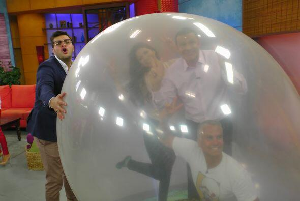 ¡No, Paul! No es una pelota de fútbol.