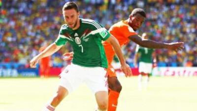El controversial partido de México vs. Holanda