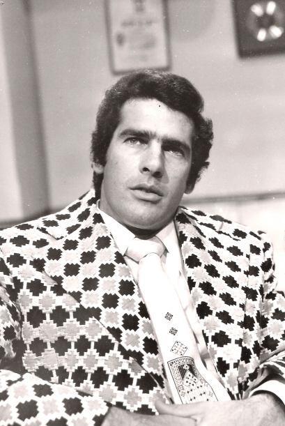 Andrés García en 1975 cuando trabajaba en la telenovela &q...