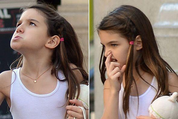 Sabemos lo temperamental que es la hija de Tom Cruise y Katie Holmes....