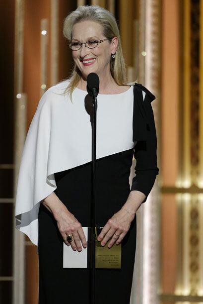 Meryl Streep ha demostrado que no necesita de cirugías para lucir...