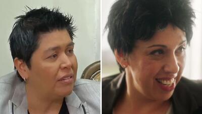 Elena Jiménez y Regina Orozco.