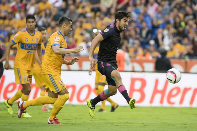 El karma alcanzó a Chivas en derrota de último minuto ante Tigres 201709...