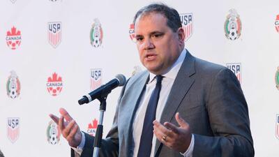 Víctor Montagliani, optimista en que Estados Unidos, México y Canadá organicen el Mundial de 2026