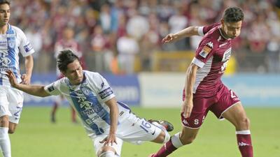 Pachuca empató en la ida de los cuartos de final con el Saprissay dejó todo para la vuelta