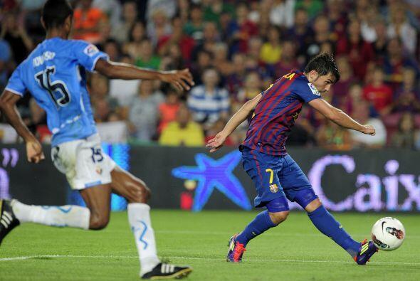 Cuando el primer tiempo promediaba los 30 minutos, David Villa dijo pres...