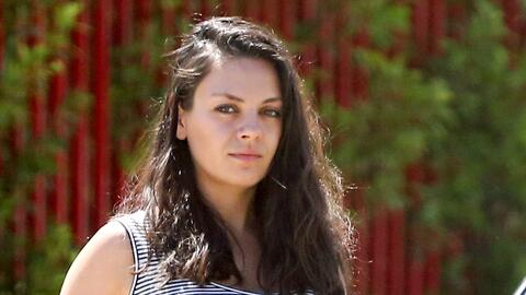 Mila Kunis embarazada