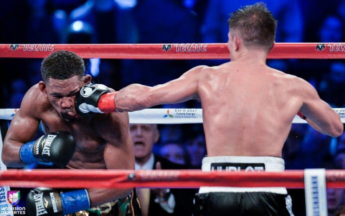 Lo mejor del boxeo 2017