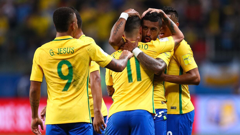 2. Brasil (Conmebol) - 1,590 puntos