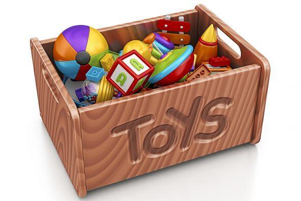 Caja de juguetes a prueba de traviesos. Almacena los juguetes de tu bebé...