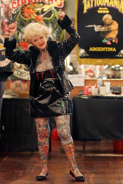 Varley es argentina y disfruta presumiendo la tinta que viste su cuerpo.