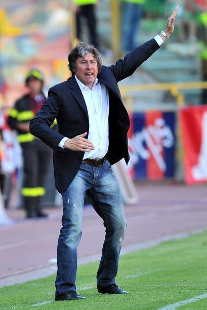 Caso contrario del técnico del Bolonia, Alberto Malesani, que mató el ti...