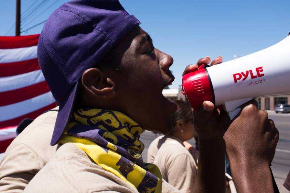 'La Caravana contra el Miedo' denuncia intimidación en Arizona Protesta...