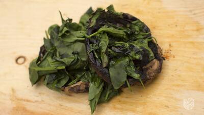 Portobello, el mejor sustituto de la carne en una parrilla