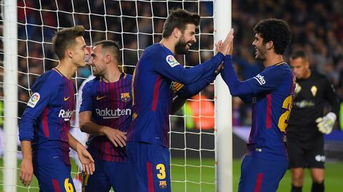 Barcelona vs. Murcia