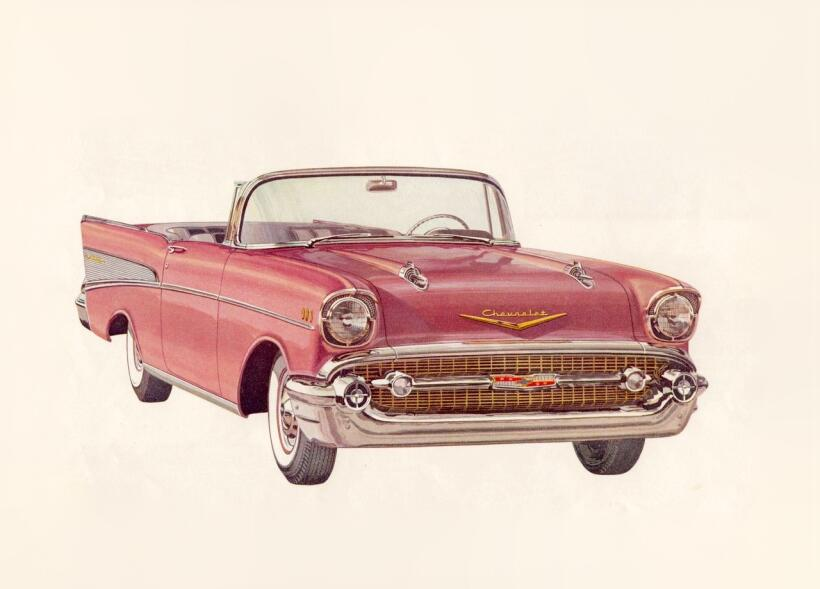 Lupillo Rivera regala un vehículo todoterreno a su hijo 1957 Chevrolet...