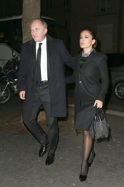 Salma y Pinault
