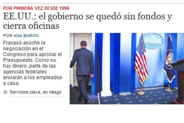 En tanto, el diario argentino El Clarín destaca que los servicios clave...