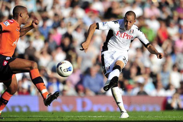 El Fulham dominó de principio a fin.