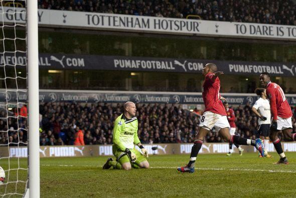 Young volvió a tener la oportunidad de marcar y así lo hizo.