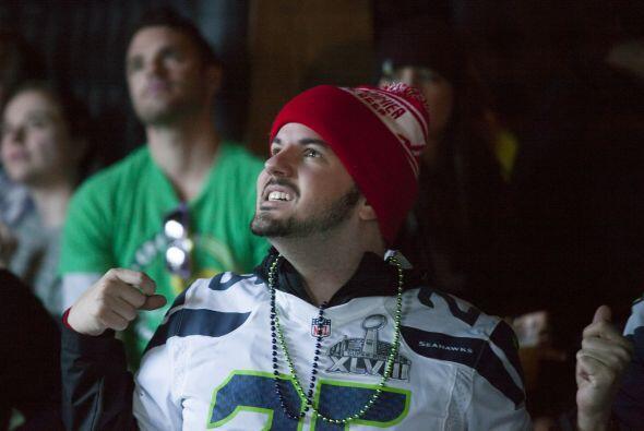 A pesar de ello, los fanáticos de los Seahawks vivieron momentos estresa...