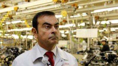 El presidente de Nissan Motors, Carlos Ghosn, es el mejor pagado de Japó...