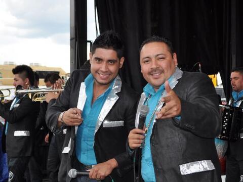 Directo de Zacatecas llegaron los músicos de la Banda la Chacaloz...