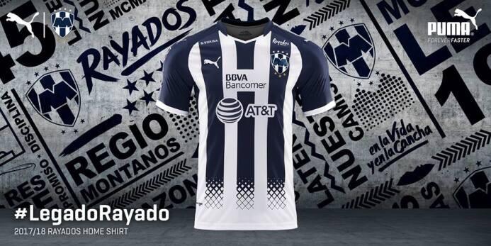 Monterrey presentó sus nuevos uniformes para la Liga MX 19990147_1928639...