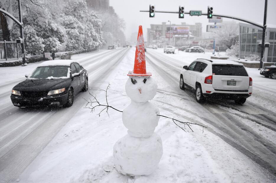 Tormenta de nieve en Estados Unidos