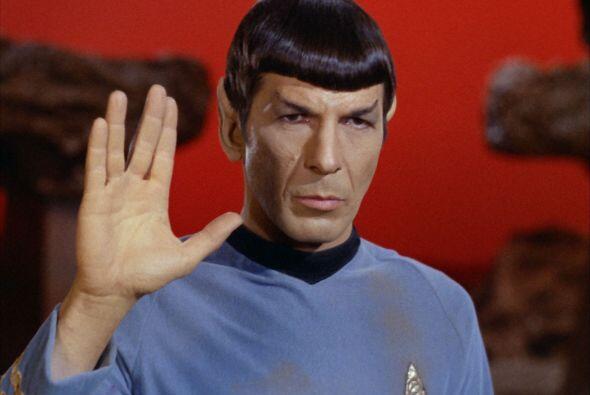 El actor, quien interpretó el legendario rol del señor Spock en la saga...
