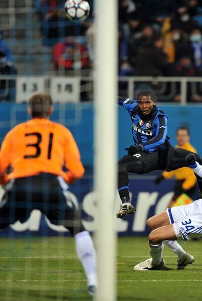 A falta de 4 minutos para el final el Inter perdía 1-0 contra el equipo...