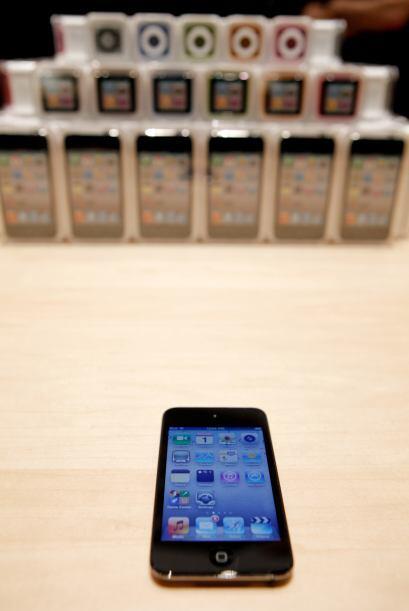 Apple envió a cada uno de los mineros la versión mas reciente del iPod T...
