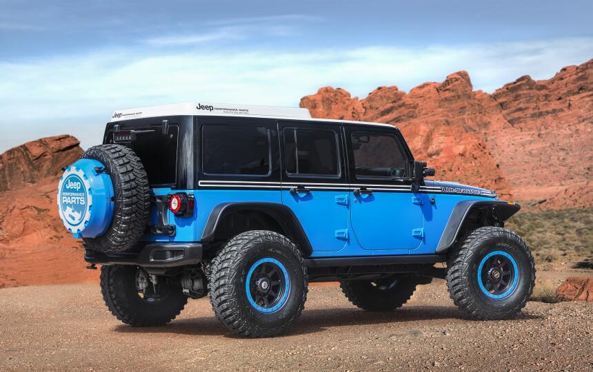 Los conceptos que llegarán el Safari de Pascua Jeep 2017  CN017_014JP33b...