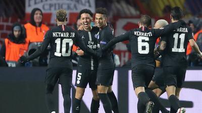 En fotos: PSG golea 4-1 al Estrella Roja y avanza como líder de grupo en Champions League