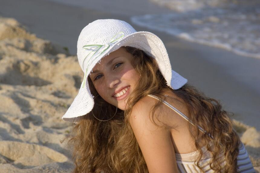 maquillaje de playa
