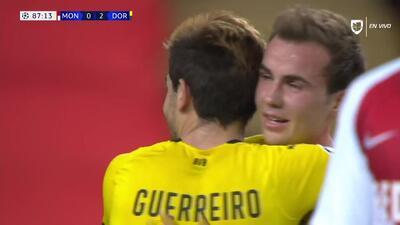 ¡GOOOL! Raphael Guerreiro anota para Borussia Dortmund