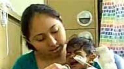Bebe de 7 meses en California requiere de apoyo para costear transplante...