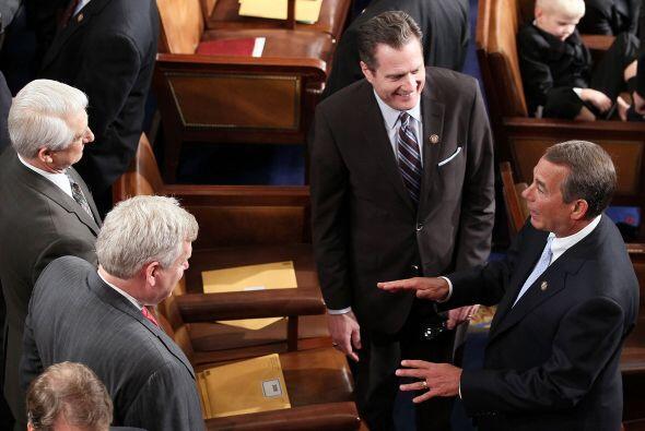 La nueva Cámara de Representantes está conformada por 242 representantes...