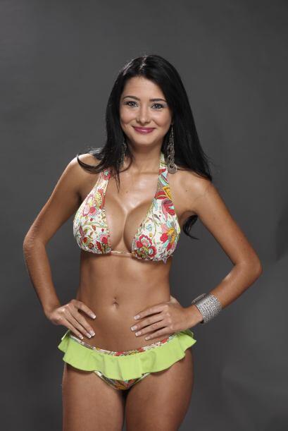 Carolina Restrepo, candidata a Miss Pechonalidad