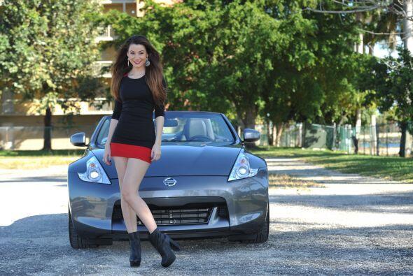 Ideal para llevar a pasear una modelo como Nastassja.