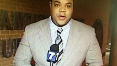 Vester Flanagan, en una imagen durante una de sus intervenciones en tele...